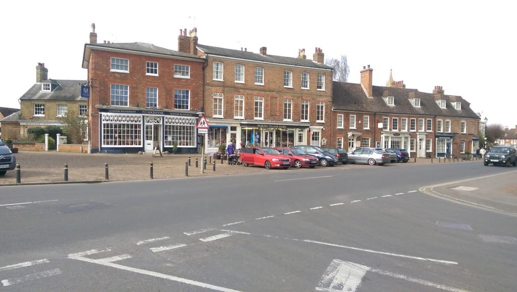 Woburn village centre