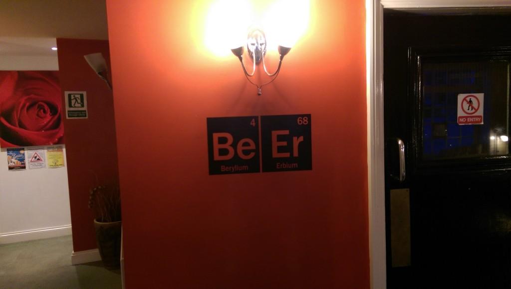 Be Er - at The Rose Inn